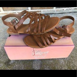 Jellypop Brown Sandals